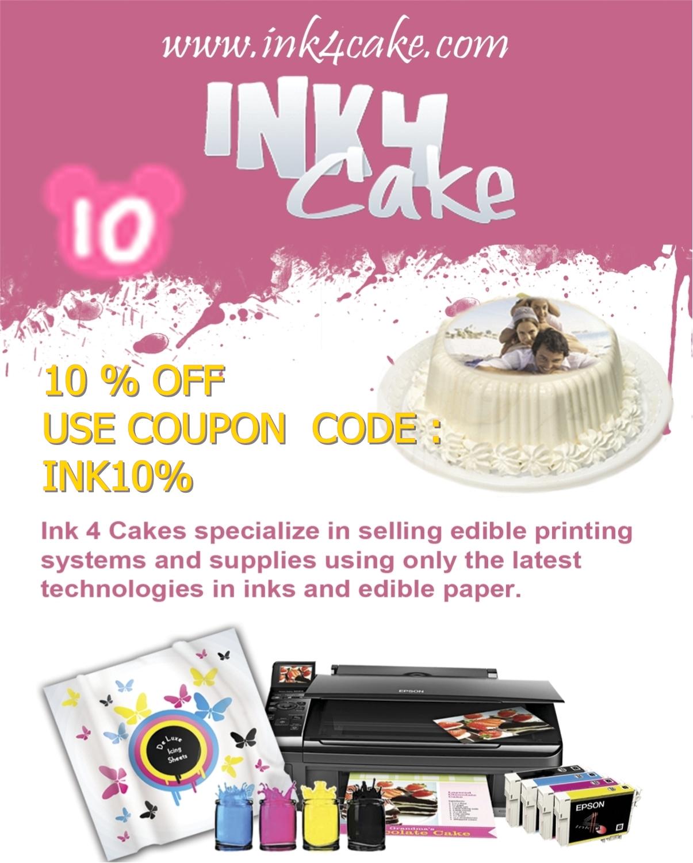 Edible Inks In Cake Decorating Arts
